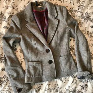 H&M Divided Gray Blazer Size 4